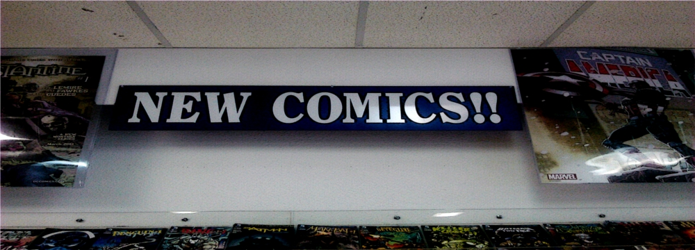 new comics slider
